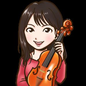 violin似顔絵