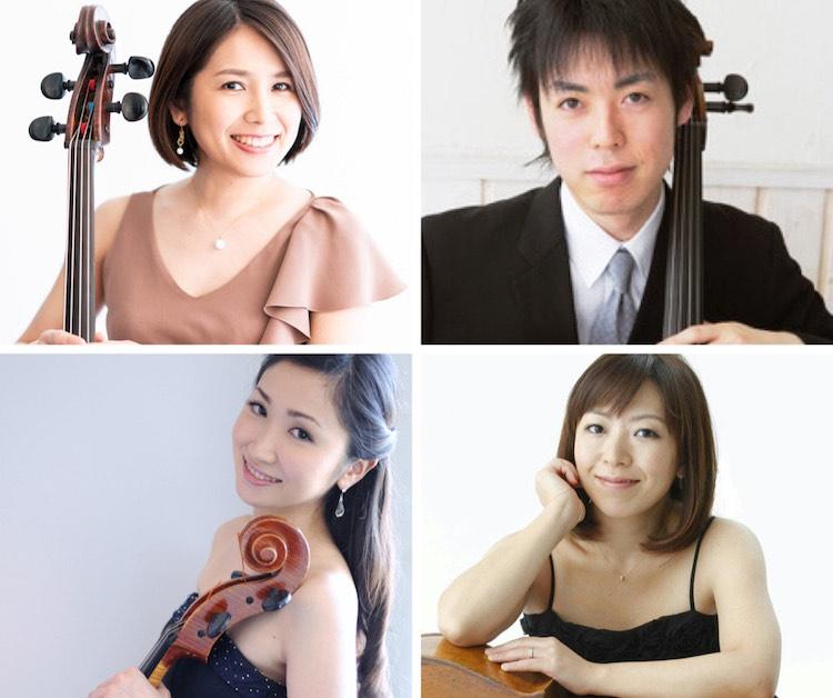 日本弦楽協会のチェロ講師